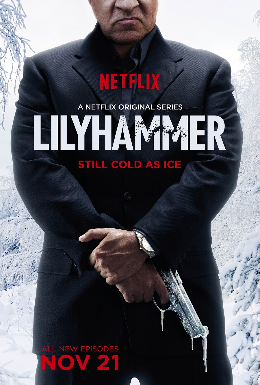 Lilyhammer S3 Key Art