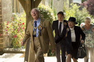 Michael Gambon as Howard Mollison and Julia McKenzie as Shirley Mollison in BBC One/HBO co-production 'The Casual Vacancy'