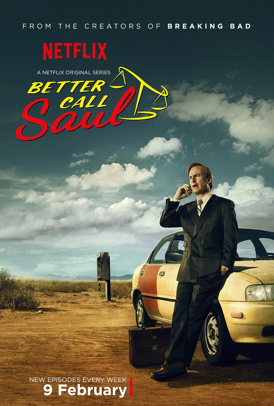 Better Call Saul - Netflix UK Poster