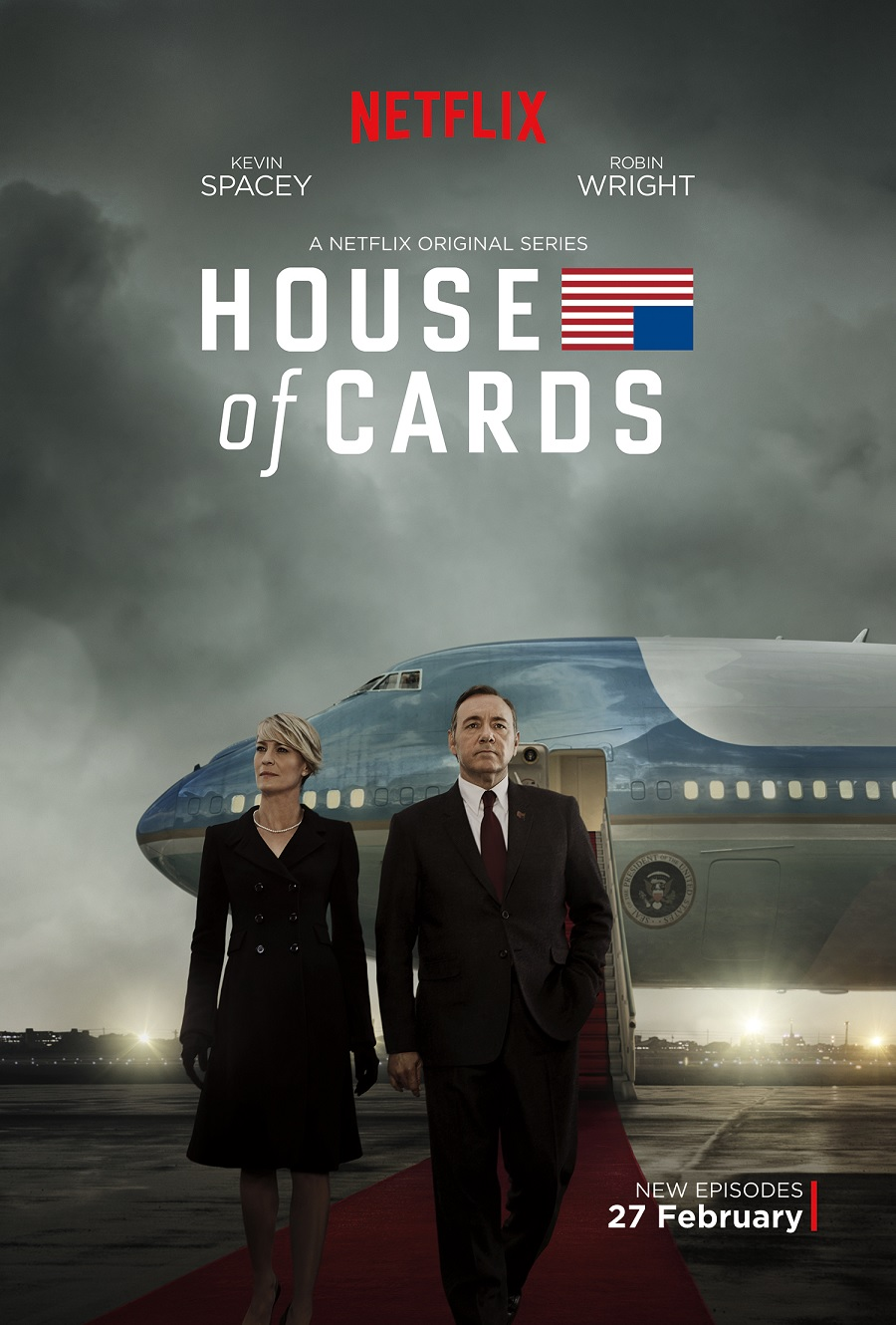 House Of Cards S3 (Key Art)