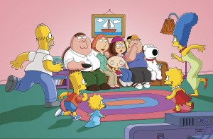 Family Guy-Simpsons Crossover