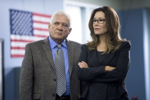 Major Crimes - GW Bailey & Mary McDonnell