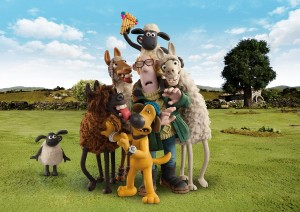 Shaun The Sheep Farmers Llamas